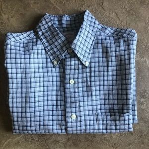 BROOKS BROTHERS Long sleeve Flax button up Sz M